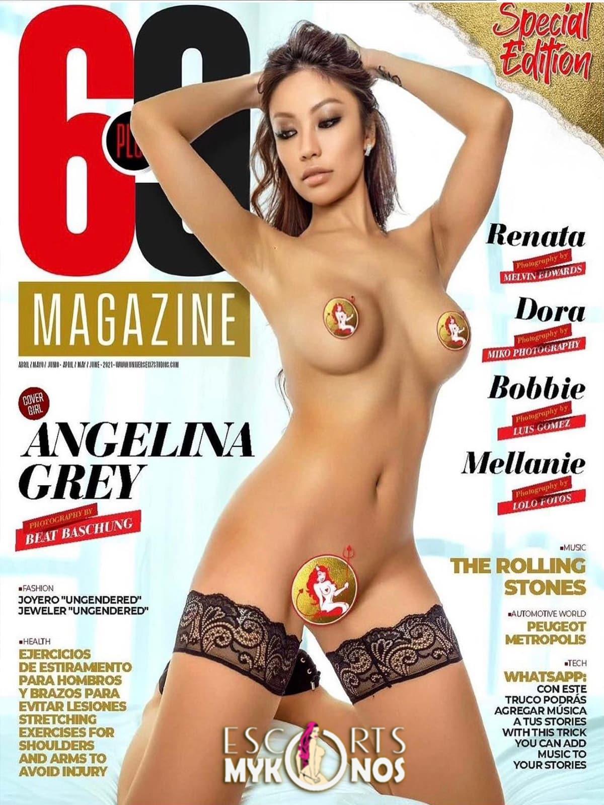 69 magazine angelina gray escort playmate