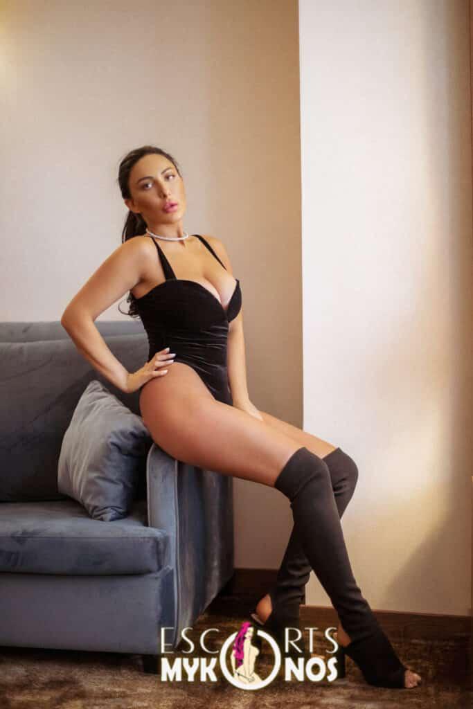 Irina Brunette Mykonos Escort