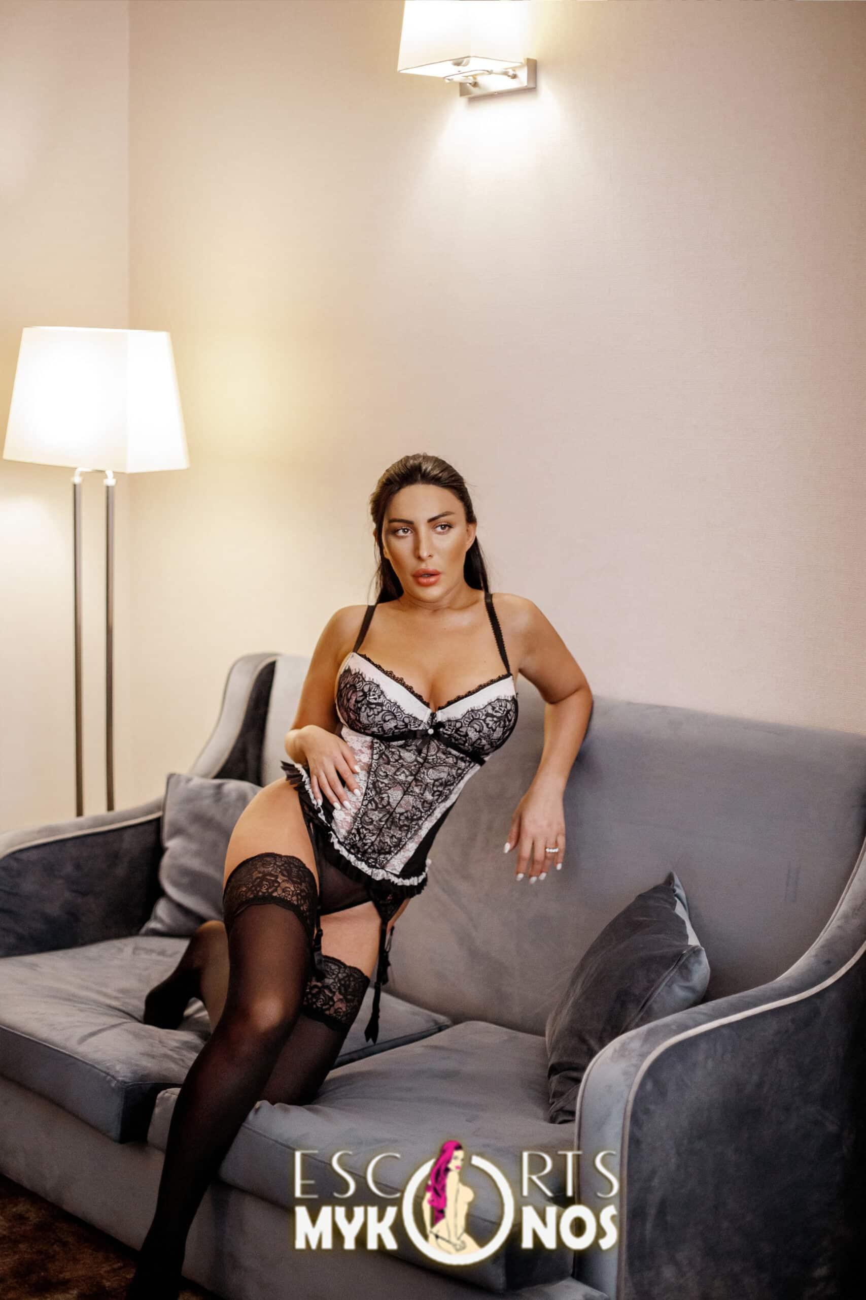 Premium Irina Brunette Mykonos Escorts
